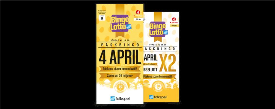 BingoLotto påsk föreningsförsäljning